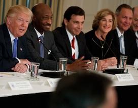 Bất bình với Tổng thống Trump, 6 lãnh đạo tập đoàn rời Hội đồng Kinh tế Mỹ
