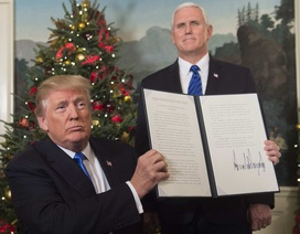 Vì sao ông Trump bất chấp rủi ro để công nhận Jerusalem là thủ đô của Israel?