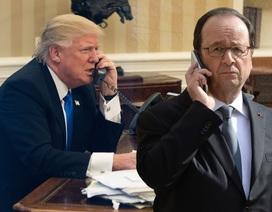 Ông Trump than vãn với Tổng thống Pháp qua điện thoại