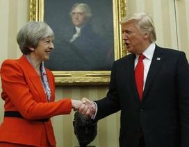 Tổng thống Trump gặp lãnh đạo nước ngoài đầu tiên sau nhậm chức
