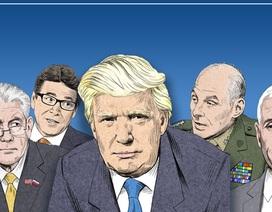 Nội các của Tổng thống Trump sau 1 tháng nhậm chức