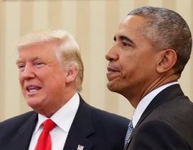 Ông Trump từng kêu gọi Obama không tấn công Syria