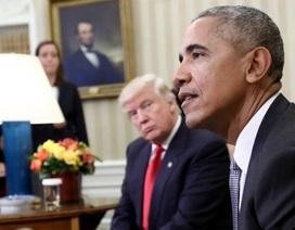 """Tổng thống Trump chỉ trích ông Obama """"ngó lơ"""" vụ Nga can thiệp bầu cử"""