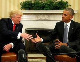"""Ông Trump """"khoe"""" khảo sát chứng tỏ mình làm tốt hơn ông Obama"""