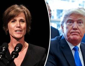 Tổng thống Trump sa thải quyền bộ trưởng tư pháp vì chống sắc lệnh di trú