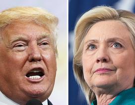 """Tổng thống đắc cử Trump bất ngờ """"nổi đóa"""" với bà Clinton"""
