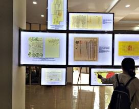 Chiêm ngưỡng Di sản tư liệu thế giới, Bảo vật quốc gia Việt Nam
