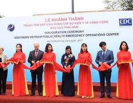 Lập Trung tâm đáp ứng khẩn cấp sự kiện y tế công cộng