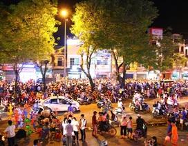 Người dân xứ Huế đổ ra đường chơi Tết Trung thu