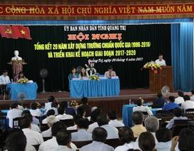 Quảng Trị: 20 năm, xây dựng 227 trường chuẩn Quốc gia