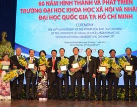 Trường ĐH Nhân văn TP.HCM vinh danh 60 cựu sinh viên tiêu biểu