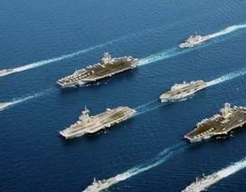 Bộ 3 tàu sân bay Mỹ tập trận sát bán đảo Triều Tiên