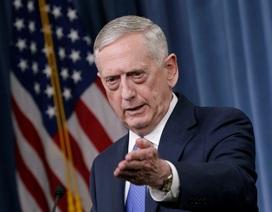 Đến lượt Bộ trưởng Quốc phòng Mỹ cảnh báo Triều Tiên