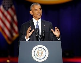 Toàn văn bài phát biểu chia tay xúc động của ông Obama