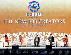 """Doanh nhân APEC bàn về chuyện lo robot """"cướp"""" công việc của con người"""