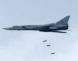Nga điều đồng loạt 6 máy bay ném bom tầm xa tiêu diệt IS ở Syria