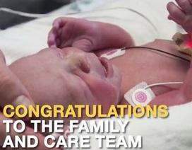 Ca sinh đầu tiên từ người mẹ được cấy ghép tử cung tại Mỹ