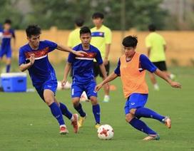 U20 Việt Nam tập nặng cả ngày nghỉ lễ, chờ đấu U20 Argentina