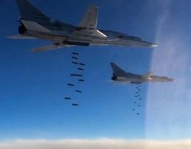 Nga triển khai 6 máy bay ném bom Tu-22M3 dội bom xuống Deir Ezzor