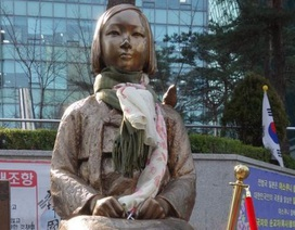 Nhật Bản triệu đại sứ tại Hàn Quốc vì tượng phụ nữ mua vui
