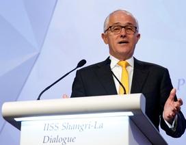 """Thủ tướng Australia cảnh báo Trung Quốc không """"bắt nạt"""" trên Biển Đông"""
