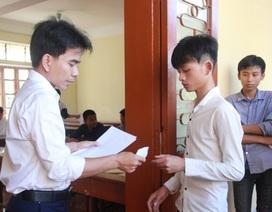 Nghệ An sử dụng bài tổ hợp trong kỳ thi tuyển sinh lớp 10 THPT