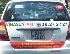 """Từ vụ taxi Vinasun phản đối Uber, Grab: Cạnh tranh lành mạnh hay... """"tự sát""""?"""