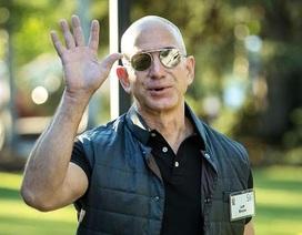 Tỷ phú Jeff Bezos lại chiếm ngôi giàu nhất thế giới