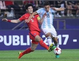 U20 Argentina thua trận thứ hai liên tiếp ở World Cup U20