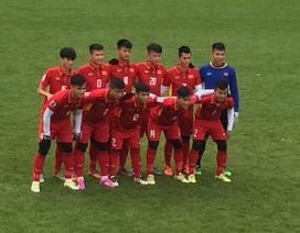 U20 Việt Nam thắng dễ U19 Dusseldorf với tỷ số 4-1