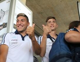 Đội tuyển U20 Argentina đã đặt chân tới TP.HCM