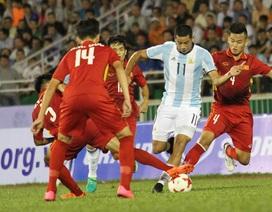 U20 Việt Nam 1-4 U20 Argentina: Sai lầm hàng thủ
