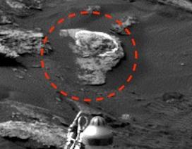 """Các thợ săn UFO khẳng định đã phát hiện """"đầu lâu xương chéo trên"""" sao Hỏa"""