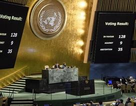 Đằng sau quyết định của 7 nước ủng hộ Mỹ tại Liên Hợp Quốc về Jerusalem