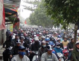 Hơn 90% người Hà Nội đồng ý cấm xe máy trong nội đô!