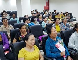 Ngày 20-10 vui tươi lạc quan với hàng trăm phụ nữ bị ung thư vú