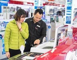 Máy giặt Smart Inverter hút khách hàng trẻ thu nhập khá