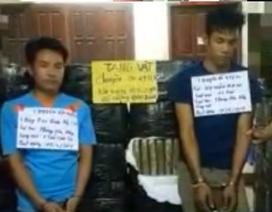 Bắt 2 đối tượng người Lào, thu giữ 1 tấn cần sa