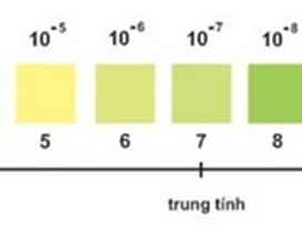Nước giặt trung tính với pH = 7 làn sóng xanh mới trong ngành hàng giặt tẩy?