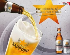 """Sapporo Premium Beer: """"uống"""" hay """"thưởng"""" bia"""