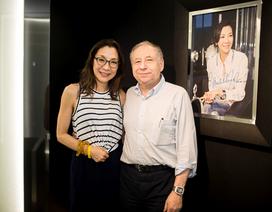 Dương Tử Quỳnh cùng Jean Todt thăm Richard Mille Hà Nội