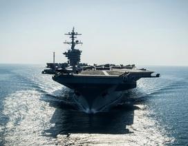 Trung Quốc lớn tiếng phản đối tàu Mỹ tuần tra Biển Đông