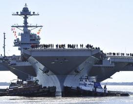 Tổng thống Trump: Tàu sân bay 12,9 tỷ USD sẽ khiến kẻ thù run sợ