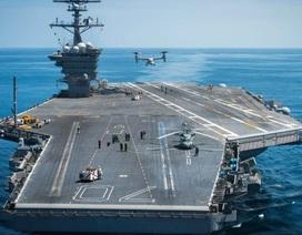 Tàu sân bay Mỹ ra khơi thử nghiệm, sắp hiện diện gần bán đảo Triều Tiên