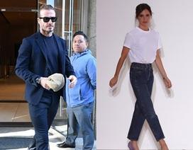 Chồng con tới cổ vũ Victoria Beckham ra mắt bộ sưu tập mới