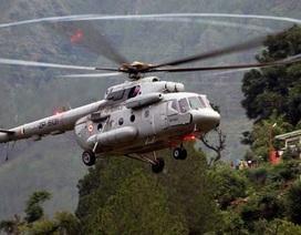 Rơi trực thăng quân sự Ấn Độ, 7 người chết