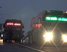 """Lập """"bến xe dù"""" trên cao tốc, nhà xe vi phạm bị thanh tra toàn diện"""