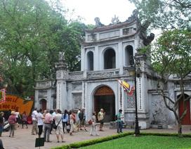 Sở Văn hoá - Thể thao Hà Nội xin phép cho Văn Miếu tiếp tục trông giữ xe máy