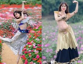 Nữ bellydance 9X khoe vũ điệu đẹp mê hồn ngày Tết