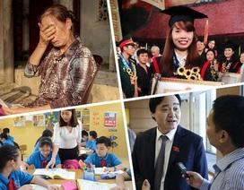 """Những vấn đề giáo dục tranh cãi """"không hồi kết"""" năm 2017"""